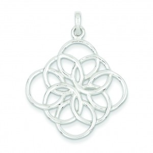 Polished Pendant in Sterling Silver