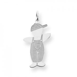 Pee Wee Cuddle Charm in Sterling Silver