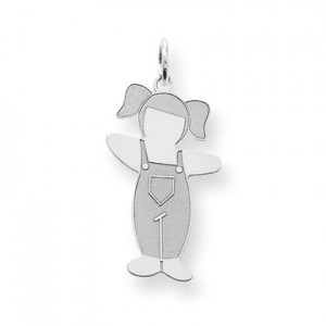 Country Side Cuddle Charm in Sterling Silver