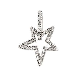 Diamond Pendant in 14k White Gold (0.375 Ct. tw.) (0.375 Ct. tw.)