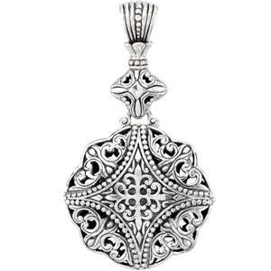 Fashion Pendant in Sterling Silver