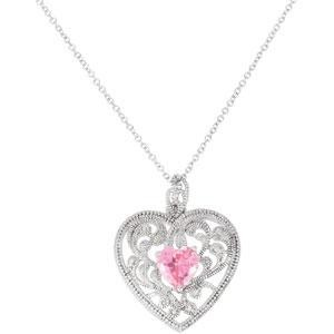 The Gift Of Motherhood Pendant Chain in Sterling Silver