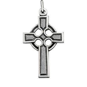 Celtic Cross in Sterling Silver