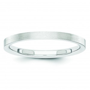 Classic Flat Wedding Band (2.00 mm)
