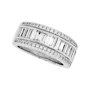 Baguette Cut Diamond Anniversary Rings (2 Ct. tw.) (2 Ct. tw.)