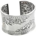 Fashion Cuff Bracelet in Sterling Silver