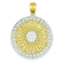 Filigree Pendant in 14k Yellow Gold
