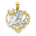 Sweet Pendant in 14k Yellow Gold