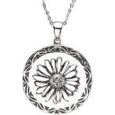 Never Too Late Pendant Chain in Sterling Silver
