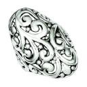 Antiqued Filigree Ring