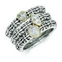 0.05 Ct. Diamond 3 Rings