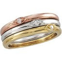 Stackable Diamond Ring in 14k Yellow Gold (0.025 Ct. tw.) (0.025 Ct. tw.)