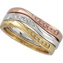 Stackable Diamond Ring in 14k Rose Gold (0.03 Ct. tw.) (0.03 Ct. tw.)