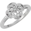 Ct Tw Diamond Ring in Sterling Silver