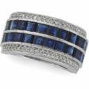 Diamond Gemstone Anniversary Rings  (0.33 Ct. tw.) (0.33 Ct. tw.)
