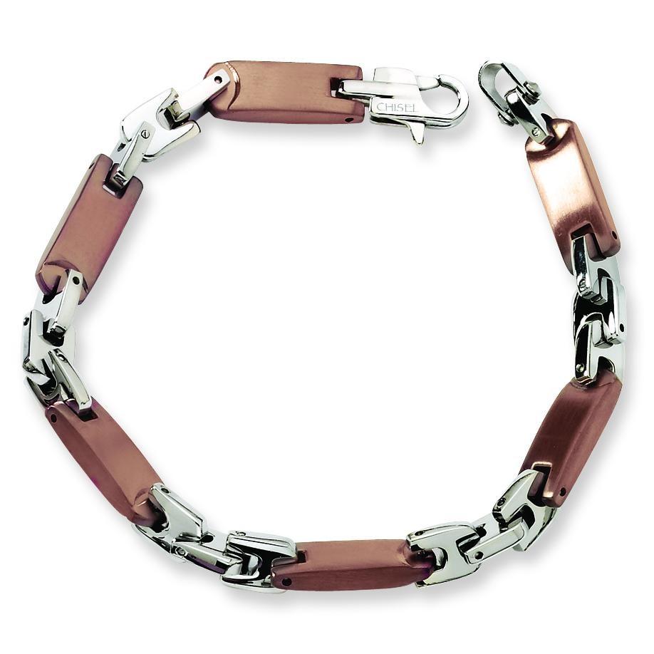 IP Plated Bracelet in Stainless Steel