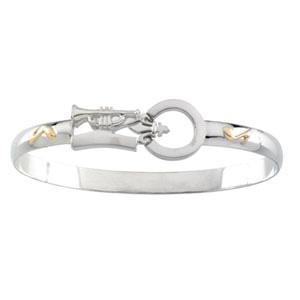 Montesino Destination Bracelet in 14k Yellow Gold & Sterling Silver