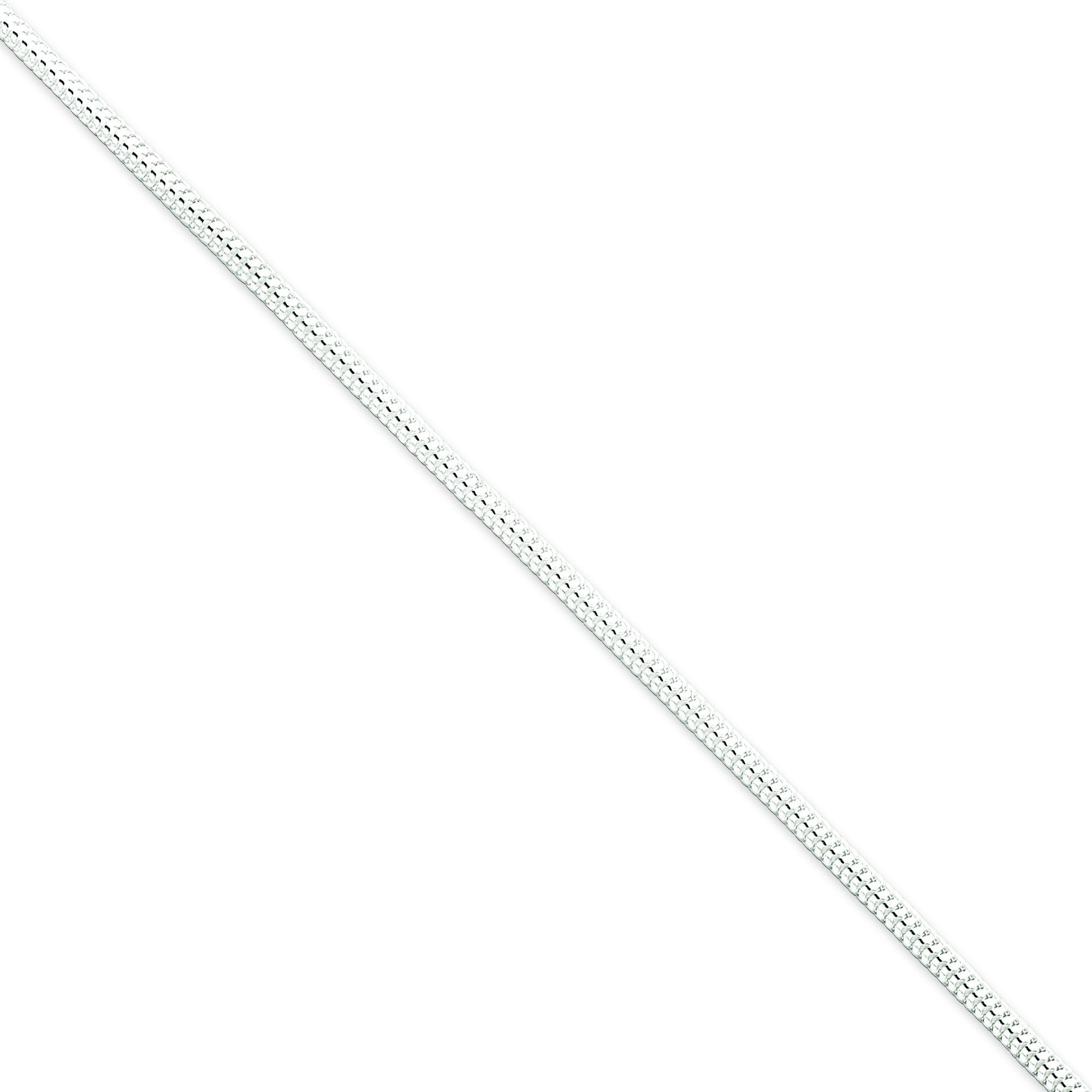 Sterling Silver 7 inch 2.50 mm  Snake Chain Bracelet