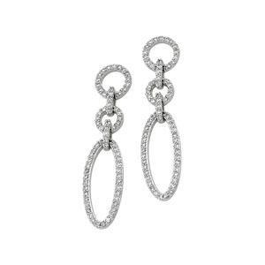 Diamond Earrings in 14k White Gold (0.625 Ct. tw.) (0.625 Ct. tw.)