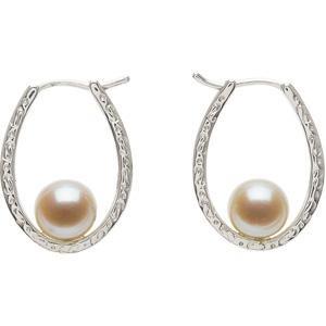 Cultured Pearl Earrings in Sterling Silver