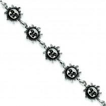 Suns Bracelet in Sterling Silver