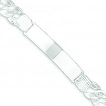 ID Curb Link Bracelet in Sterling Silver