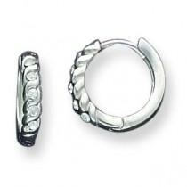 Huggy Earrings in Sterling Silver