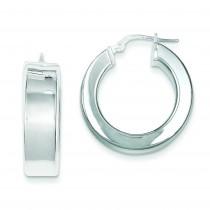 Huggie Earrings in Sterling Silver