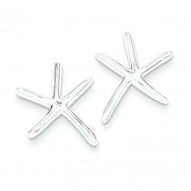 Starfish Post Earrings in Sterling Silver