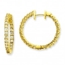Diamond Earring Mtg in 14k Yellow Gold