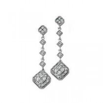 Diamond Earrings in 14k White Gold (0.33 Ct. tw.) (0.33 Ct. tw.)