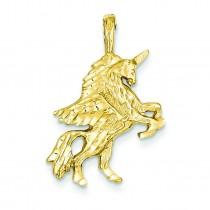 Unicorn Charm in 14k Yellow Gold