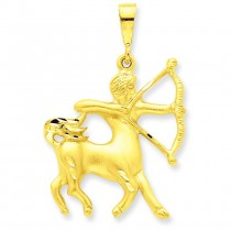 Sagittarius Zodiac Charm in 14k Yellow Gold