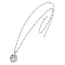 Diamond Pendant Chain in 14k White Gold