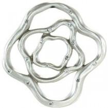 Diamond Pendant in Sterling Silver
