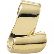 Fashion Chain Slide in 14k Yellow Gold