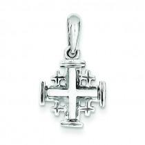 Jerusalem Cross in 14k White Gold