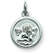 Angel Medal in Sterling Silver