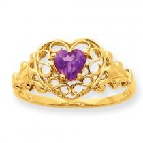 Rhodolite Garnet Birthstone Ring