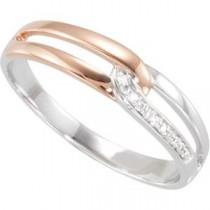Diamond Ring in 14k White Gold (0.03 Ct. tw.) (0.03 Ct. tw.)