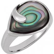 Genuine Ring in Sterling Silver