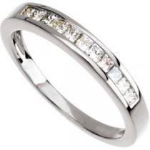 Princess Cut Diamond Anniversary Rings (0.33 Ct. tw.) (0.33 Ct. tw.)