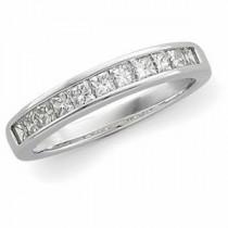 Princess Cut Diamond Anniversary Rings (0.75 Ct. tw.) (0.75 Ct. tw.)