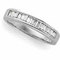 Baguette Cut Diamond Anniversary Rings (0.5 Ct. tw.) (0.5 Ct. tw.)