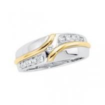 Multi Stone Diamond Anniversary Rings (0.2 Ct. tw.) (0.2 Ct. tw.)