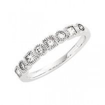 Multi Stone Diamond Anniversary Rings (0.375 Ct. tw.) (0.375 Ct. tw.)
