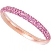 Diamond Gemstone Anniversary Rings