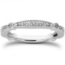 Matching Elegant Round Cut Engagement Ring in 14K Yellow Gold