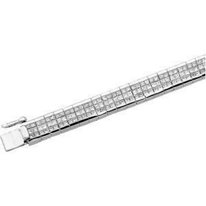 Diamond Bracelet in 14k White Gold (8.33 Ct. tw.) (8.33 Ct. tw.)