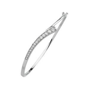 Journey Diamond Bracelet in 14k White Gold (0.75 Ct. tw.) (0.75 Ct. tw.)